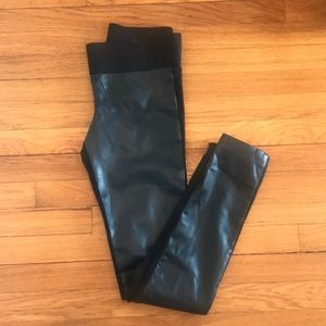 Club Monaco leather leggings
